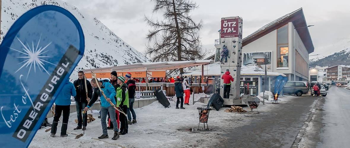 Veranstaltung beim Skiopening